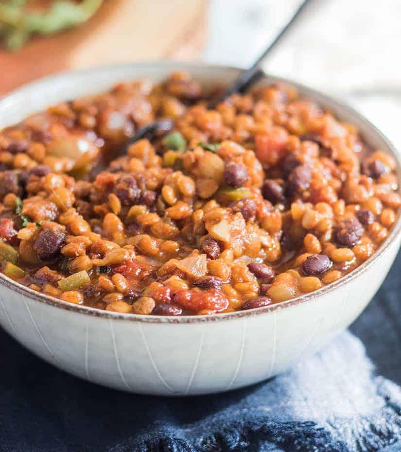 Slow Cooker Black Bean Chili