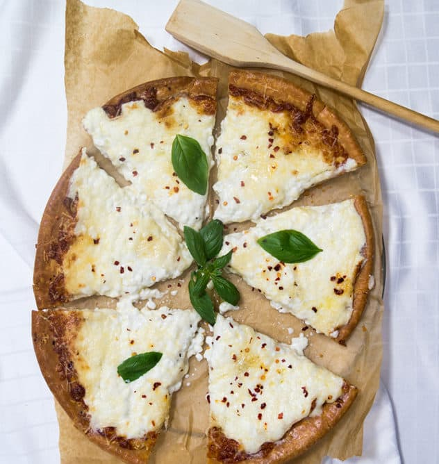 Cottage Cheese Pizza