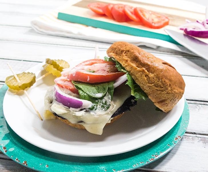 Portabella Mushroom Burger