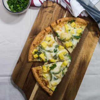 Vegetarian Pineapple Pizza