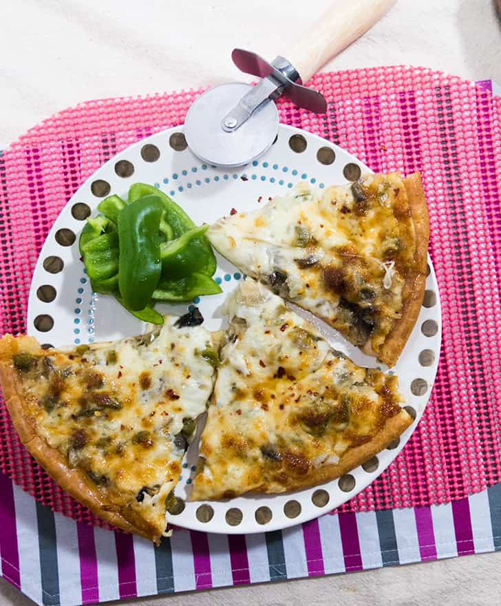Philly Cheese Pizza