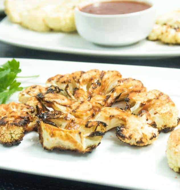 Grilled Cauliflower Steaks
