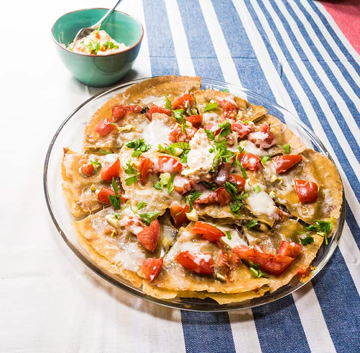 Philly Style Vegetarian Quesadilla