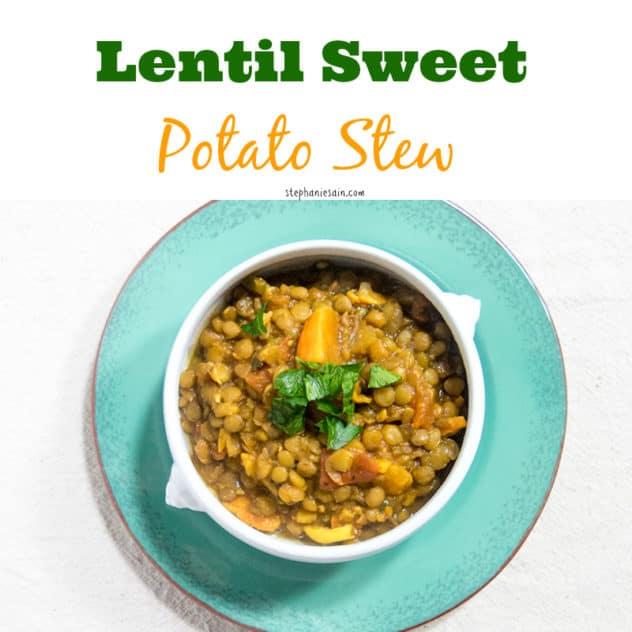 Lentil Sweet Potato Stew