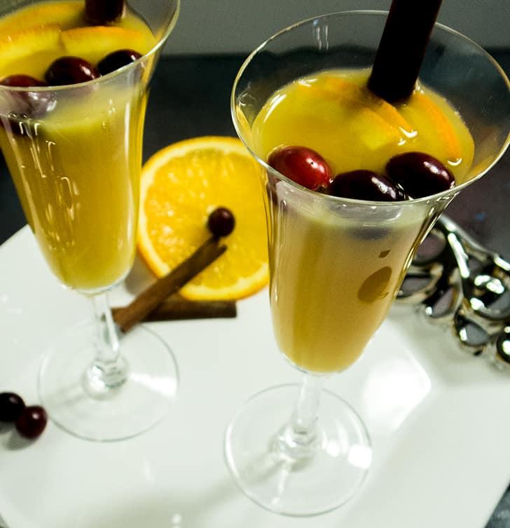 Orange Cinnamon Mimosa (Vegan & Gluten Free)