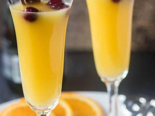 Orange Cinnamon Mimosa Cocktail Vegan Gluten Free Apples For Cj