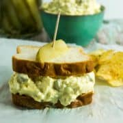 Classic Dill Pickle Egg Salad