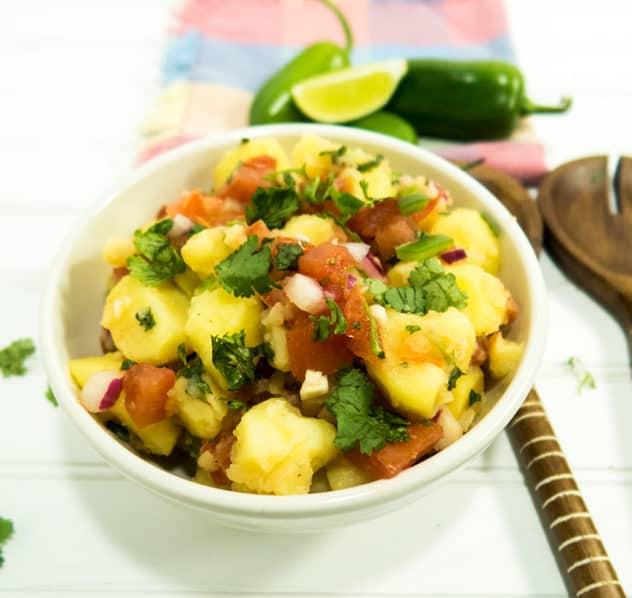 Garden Salsa Potato Salad