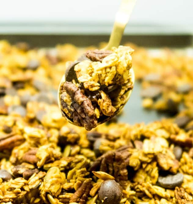 Chocolate Chip Pumpkin Maple Granola