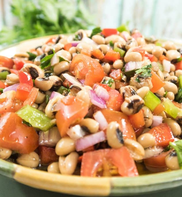 Simple Black Eyed Pea Salad