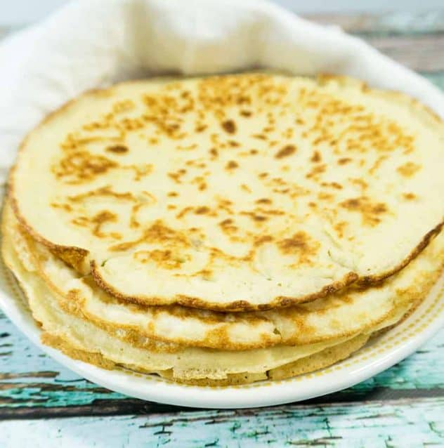 Soft Almond Flour Tortillas (Gluten Free & Low Carb)