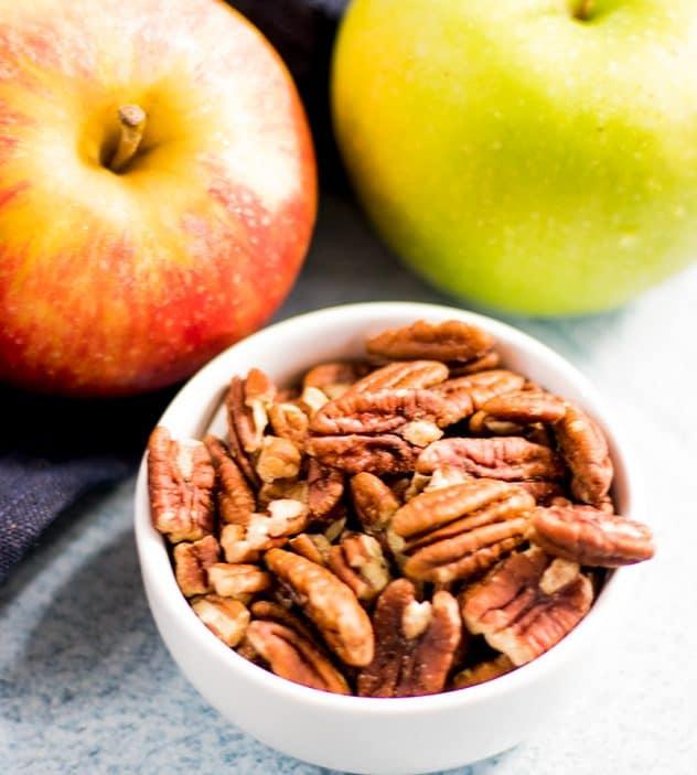 Baked Apple Pecan Oatmeal (Vegan & Gluten Free)