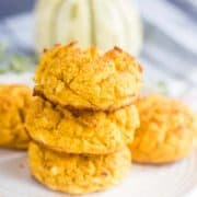 Savory Pumpkin Flour Drop Biscuits