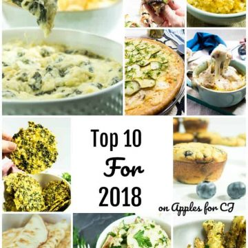 Pictures of the top 10 recipes on Apples for CJ.