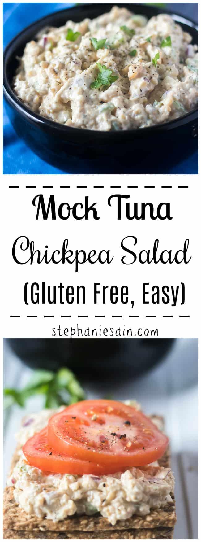 Mock Tuna Chickpea Salad