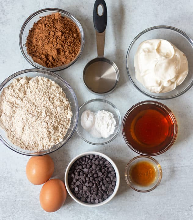 chocolate muffin ingredients