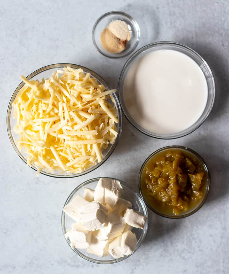 Queso Blanco ingredients